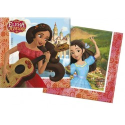 20 SERVILLETAS ELENA DE AVALOR 33X33