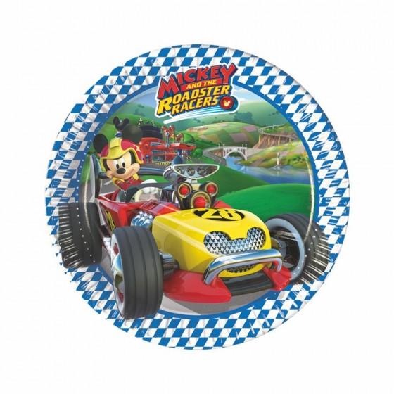 8 PLATOS MICKEY RACERS 19.5 CM