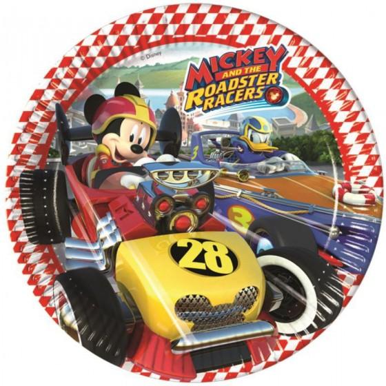 8 PLATOS MICKEY RACERS 23 CM