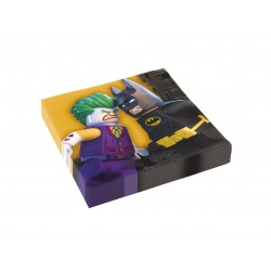 20 SERVILLETAS LEGO BATMAN 33X33