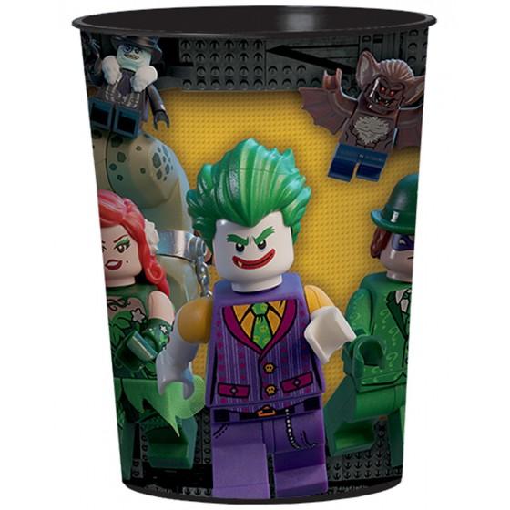 VASO PLASTICO DURO LEGO BATMAN