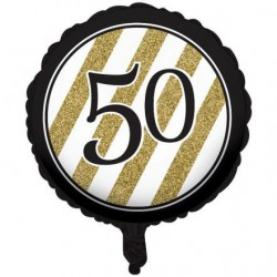 GLOBO 50 BLACK AND GOLD