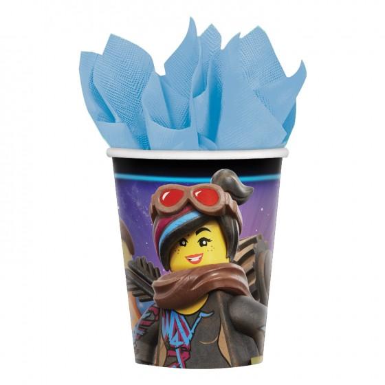 8 VASOS LEGO MOVIE