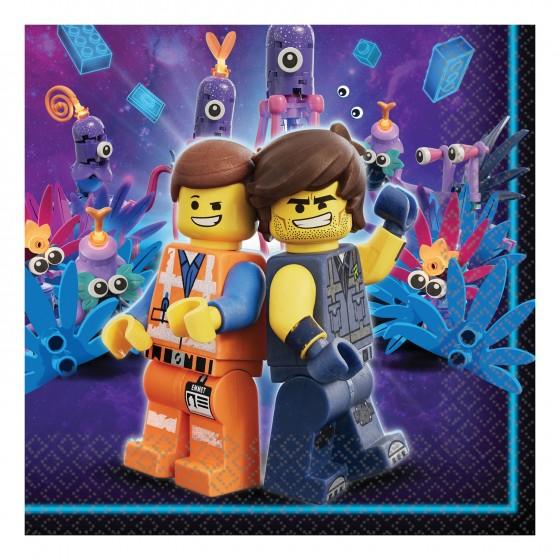 16 SERVILLETAS LEGO MOVIE...
