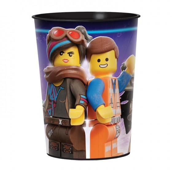 VASO RIGIDO LEGO MOVIE