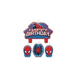 VELAS SPIDERMAN