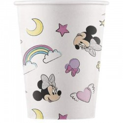 8 VASOS PAPEL MINNIE...