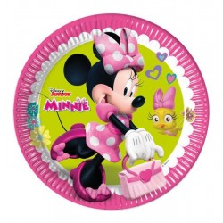 8 PLATOS 23 CM MINNIE MOUSE