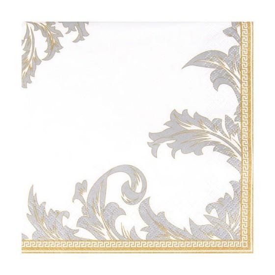 SERVILLETAS LUXURY GOLD/SILVER