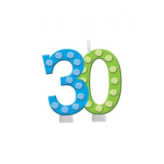 VELA 30 CUMPLEAÑOS