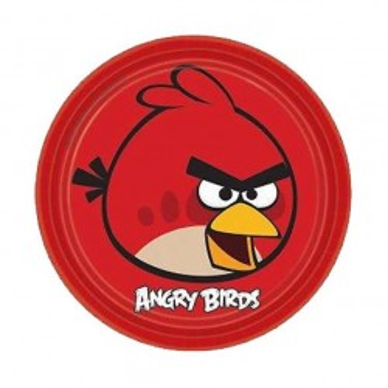 PLATOS ANGRY BIRDS 23CM