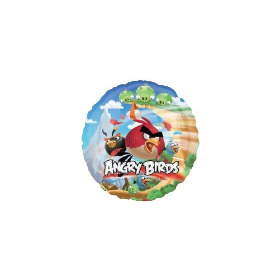 GLOBO FOIL ANGRY BIRDS 45 CM