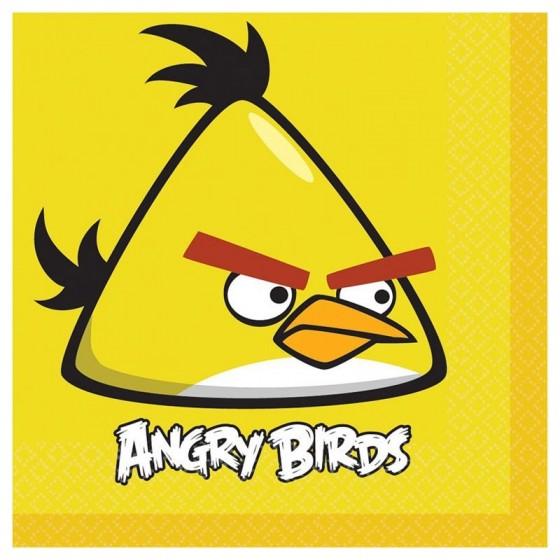 SERVILLETAS ANGRY BIRDS