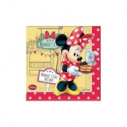 SERVILLETAS MINNIE MOUSE